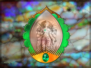 The Lakshmi Stone Medallion